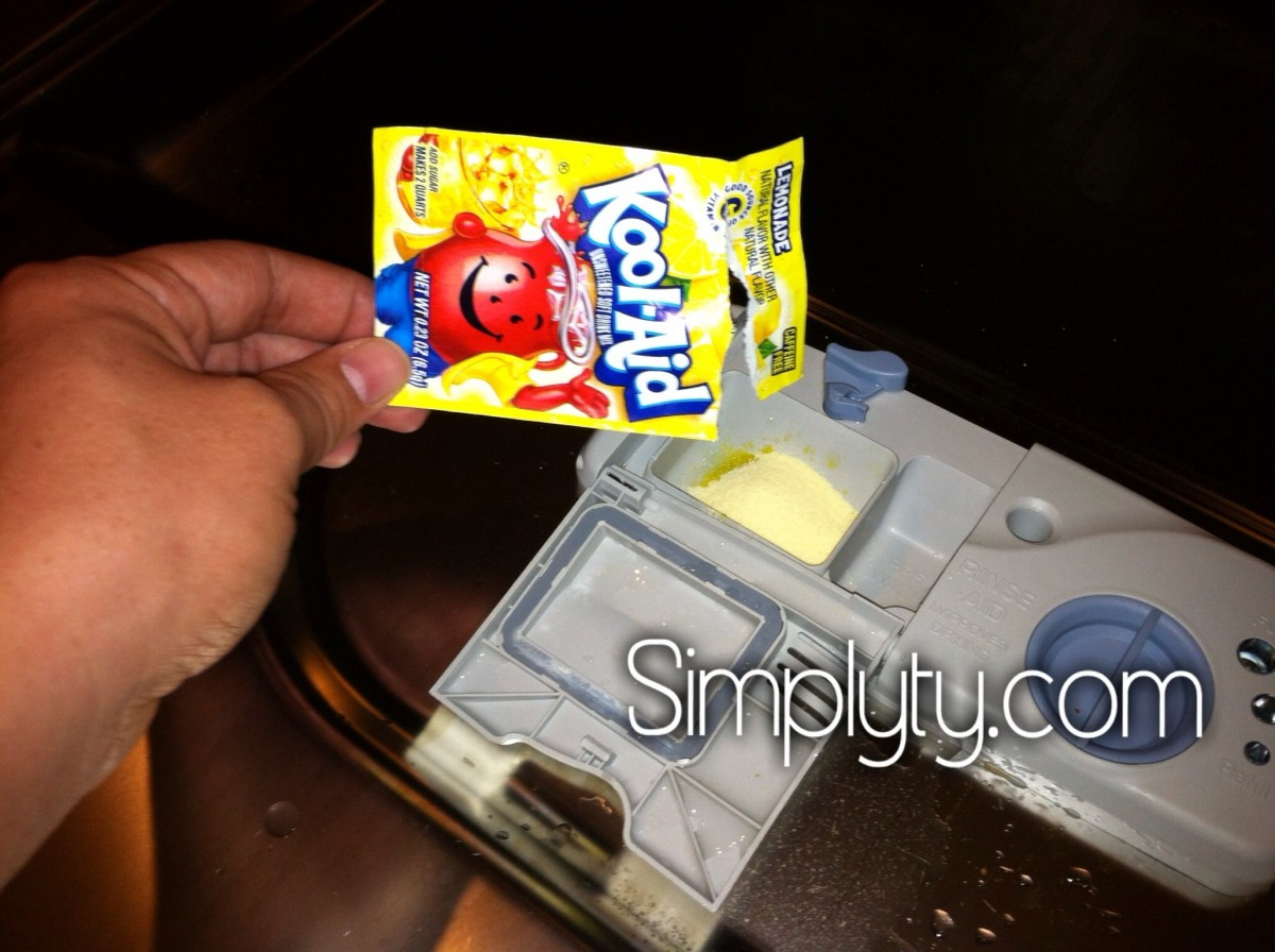 Clean A dishwasher with Kool-aid 2