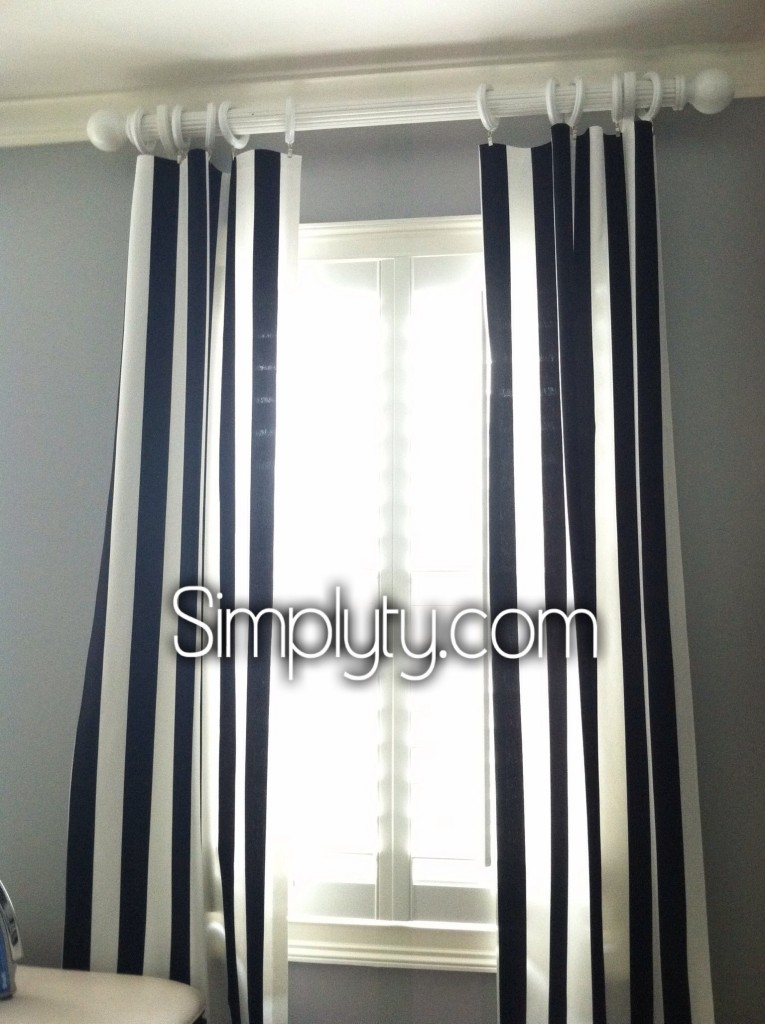 Quick Easy No Sew Curtains