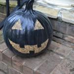 Chalkboard Painted Pumpkins